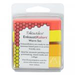 Kit Encáustica 4 Cores Quentes Enk4534 Enkaustikos