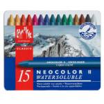 Giz Aquarelável Neocolor II Caran D'Ache 15 Cores