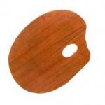 Paleta Para Pintura Trident Oval 23x31cm 12409