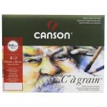 Pochette C à Grain Canson 24X32cm 220g/m² 8 Folhas