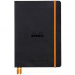 Caderno Goalbook Rhodia A5 Black