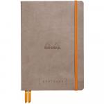 Caderno Goalbook Rhodia A5 Taupe