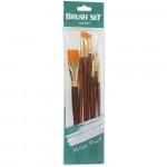 Set de Pincel para Pintura Artística Sinoart SFB0275 07 Unidades