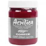 Tinta Acrílica Corfix 250ml 104 Alizarin Crinsom G2