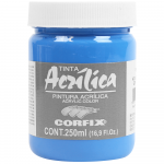 Tinta Acrílica Corfix 250ml 67 Azul Celeste G1