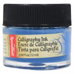 Tinta Para Caligrafia 12ml Speedball 3102 Azul Índigo