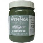 Tinta Acrílica Corfix 250ml 79 Terra Verde G1