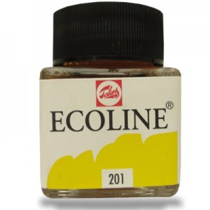 Aquarela Líquida Ecoline Talens 30ml 201 Light Yellow