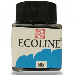 Ecoline Talens 30ml 505 Ultramarine Light
