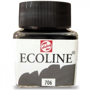 Ecoline Talens 30ml 706 Deep Grey