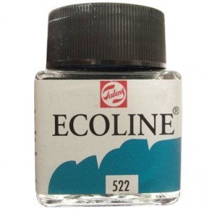 Ecoline Talens 30ml 522 Turquoise Blue