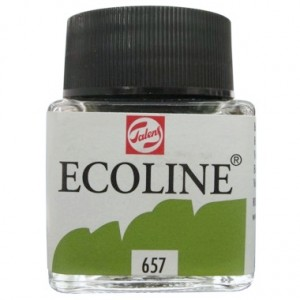Ecoline Talens 30ml 657 Bronze Green