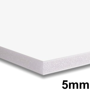 Placa Foam Board 70x100cm Branco 5mm