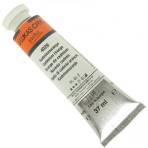 Tinta Acrílica Lukas Pastos 37ml 4029 Cadmium Orange