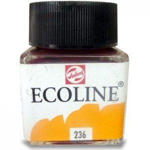 Aquarela Líquida Ecoline Talens 30ml 236 Orange Clair