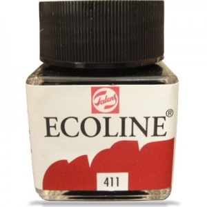 Ecoline Talens 30ml 411 Burnt Sienna