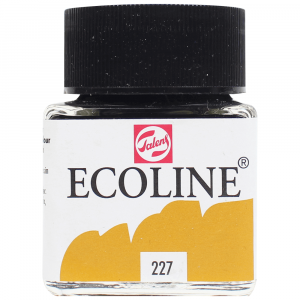 Aquarela Líquida Ecoline Talens 30ml 227 Yellow Ochre