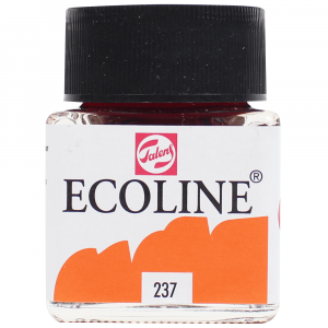 Aquarela Líquida Ecoline Talens 30ml 237 Deep Orange