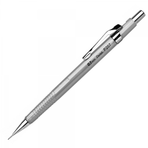 Lapiseira Pentel Sharp 0.7 mm P207-Z Prata