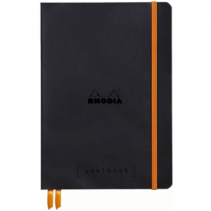 Caderno Goalbook Rhodia A5 Black