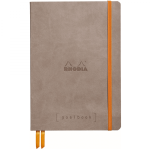 Caderno Goalbook Rhodia A5 Taupe
