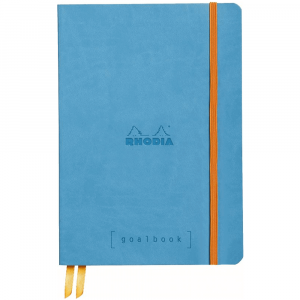 Caderno Goalbook Rhodia A5 Turquoise