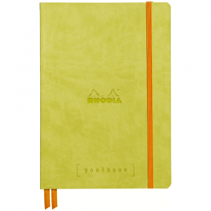Caderno Goalbook Rhodia A5 Anise
