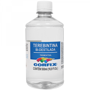 Terebintina Bi-Destilada Corfix 500ml