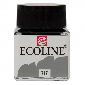 Aquarela Líquida Ecoline Talens 30ml 717 Cold Grey