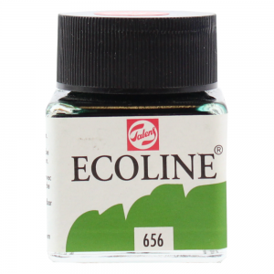 Ecoline Talens 30ml 656 Verde Bosque