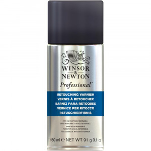 Verniz Spray Para Retoque Winsor & Newton 150ml (Retouching)