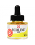 Aquarela Líquida Ecoline Talens 30ml 205 Lemon Yellow