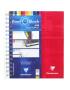 Caderno Quadriculado Bind'O Block Clairefontaine 16x21cm Vermelho