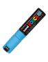 Caneta Posca Uni Ball Extra Board PC-8K Azul Claro