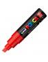 Caneta Posca Uni Ball Extra Board PC-8K Vermelha