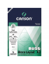 Bloco de Papel Layout Canson 120g/m² A3