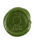 Lacre de Cera Medieval Verde