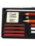 Estojo de Lápis Para Desenho Conté à Paris Sketching Box