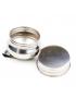 Godê de Aço Inox Simples Tampa com Rosca 15006
