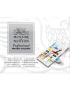 Aquarela Winsor & Newton Profissional Compact Set 14 Cores