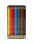 Lápis Aquarelável Mondeluz 12 Cores 3722