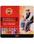 Lápis Aquarelável Mondeluz 24 Cores 3724