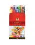 Lápis Aquarelável Arte Koh-I-Noor 36 Cores 3719