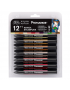 Marcador Promarker Mangá Steampunk 12 Cores + Blender Winsor & Newton