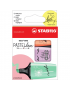 Marcador de Texto Stabilo BOSS MINI Love Pastel com 3 Cores