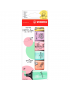Marcador de Texto Stabilo BOSS MINI Love Pastel com 6 Cores