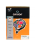 Papel Canson Vivaldi A4 120g/m² 15 Folhas 05 Cenoura