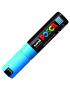Caneta Posca Uni Ball PC-7M Azul Claro