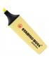 Marcador de Texto Stabilo Boss Amarelo Pastel 144