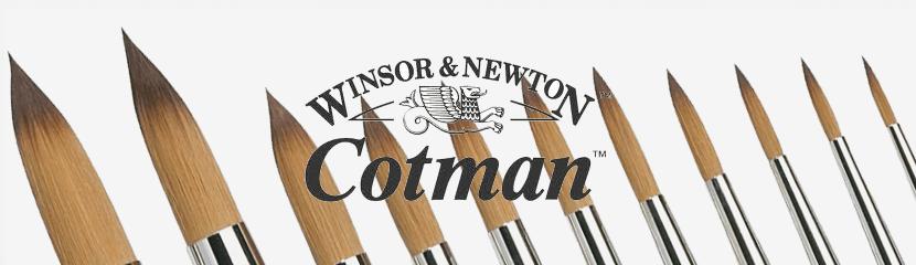 Pincéis Cotman Winsor & Newton - Série 111